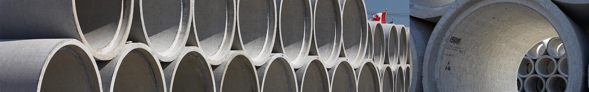Concrete Pipe - Con Cast Pipe